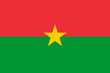 National flag of Burkina Faso