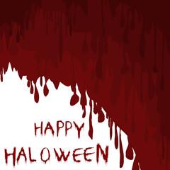 Bloody Halloween illustration