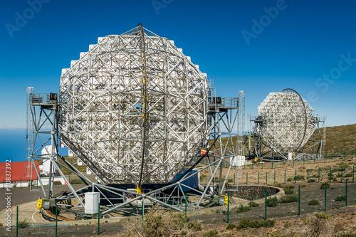 Leinwanddruck Bild La Palma observatory