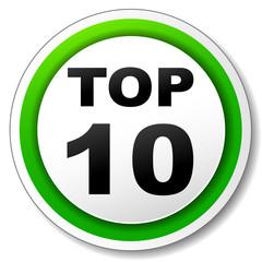 Vector top ten icon