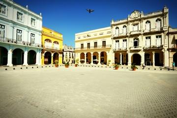 Havana. Cross processed retro color.