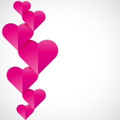 fond abstrait-coeur