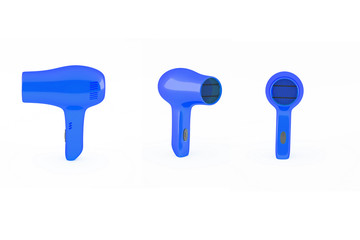 hair dryer blue