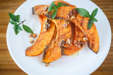 roasted pumpkin