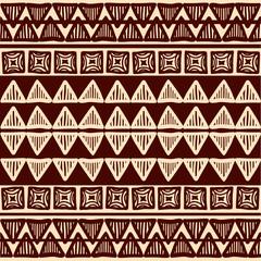 Striped tribal ornamental pattern