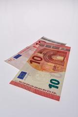Jung und Alter Euro Schein