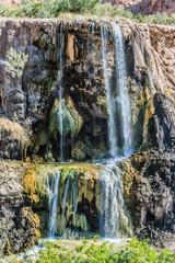 ma'in hot springs waterfall Jordan