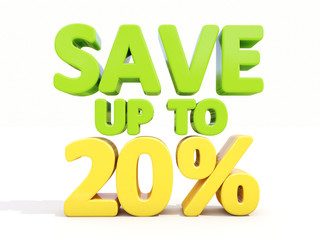 Save up to 20%