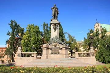 Pomnik Adama Mickiewicza w Warszawie