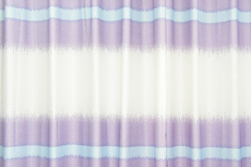 Abstract pattern curtains