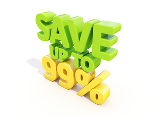 Save up to 99%
