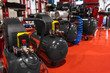 Leinwanddruck Bild - Air compressor pressure pumps