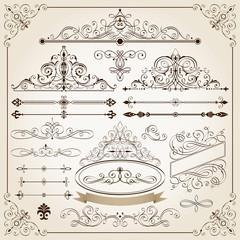 Calligraphic Frames III