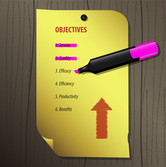 Mark Objectives