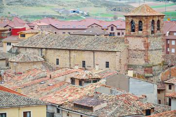 Spanish town Molina de Aragon