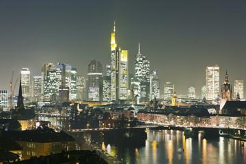 Deutschland, Hessen, Ansicht von Frankfurt am Main