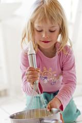 Kleines Mädchen, Vorbereitung Kartoffelpüree