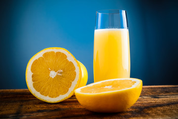 yellow grapefruit juice