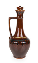 Beautiful ceramic decanter