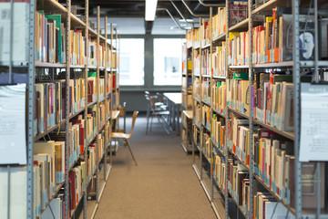 Leere Universitätsbibliothek
