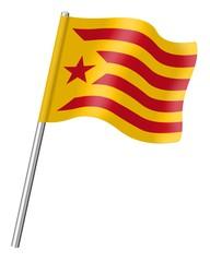 Cataluña, Estelada roja
