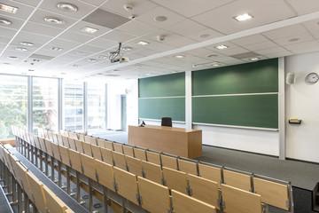 Polen, Warschau, leerer Zuschauerraum an der Technischen Universität