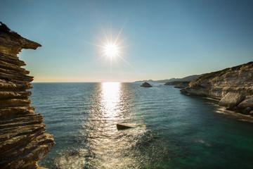soleil sur la Mer Méditerranée