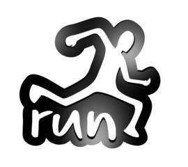 Run emblem