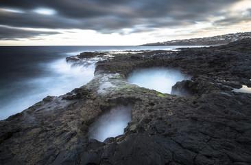 Spanien, Kanarische Inseln, Gran Canaria, El Bufadero