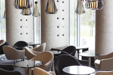 Blick auf die Hotel-Lounge, Interieur