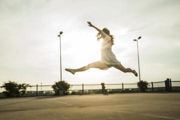 Junge Ballett-Tänzerin