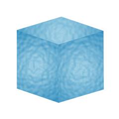 Würfel - Wasser - 3D