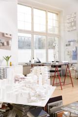 Architektur Büro mit Architekturmodell