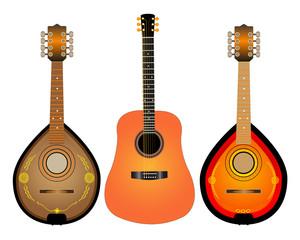 guitar and two Mandalina