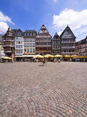 Deutschland, Hessen, Frankfurt am Main, Römerberg, historische Häuser