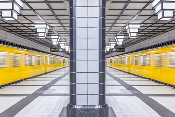 Deutschland, Berlin, U-Bahn-Station Paracelsiusbad
