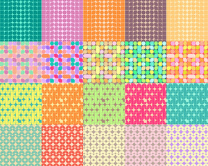20 Retro Geometric Pattern