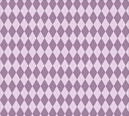 Argyle purple seamless repeating pattern for backgrounds