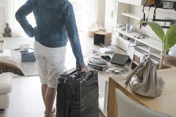 Nach dem Urlaub, Chaos nach Einbruch in Einfamilienhaus