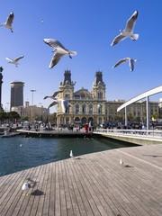 Spanien, Barcelona, Port Vell, ehemalige Zollgebäude
