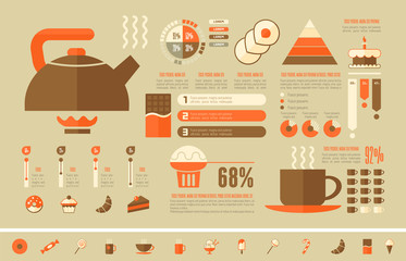 Food Infographic Template.