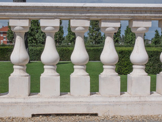 Baroque balustrade