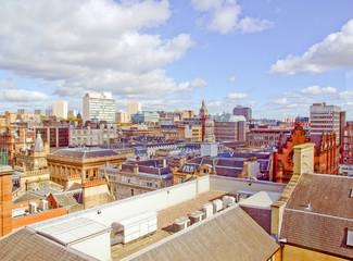 Retro look Glasgow