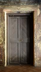 Old grungy door