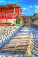hdr boardwalk