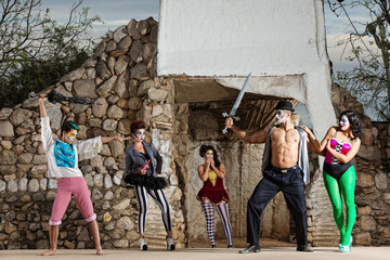 Surreal Cirque Stage Combat