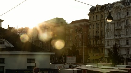 Naschmarkt Vienna Evening Mood // 4k Timelapse