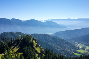 view from the Laber mountain