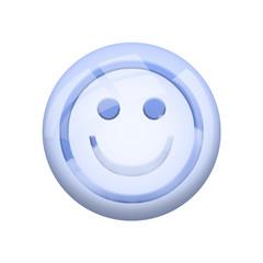 Icone nuage : sourire