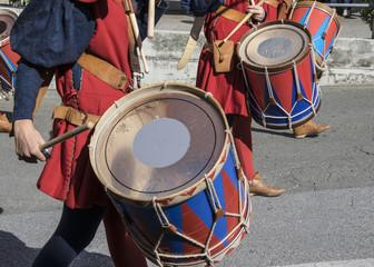 Tamburi del medioevo